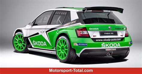 Rally Auto Technische Daten by Technische Daten Des Skoda Fabia R5 Rallye Bei