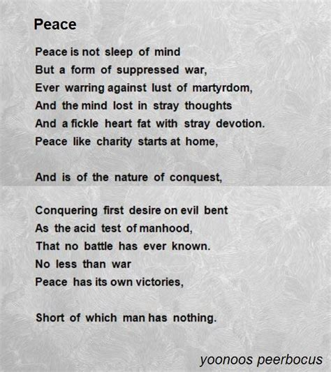 poems of peace and comfort peace poem by yoonoos peerbocus poem hunter