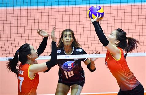 film volleyball thailand vietnam lose first match at volleyball chionship news