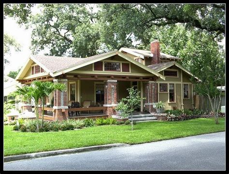 florida bungalow house plans fl bungalow craftsman exteriors pinterest