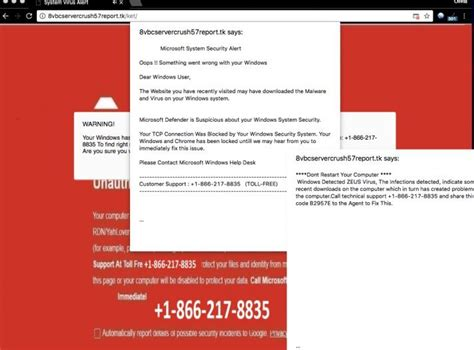 how to remove quot microsoft system security alert quot scam fix