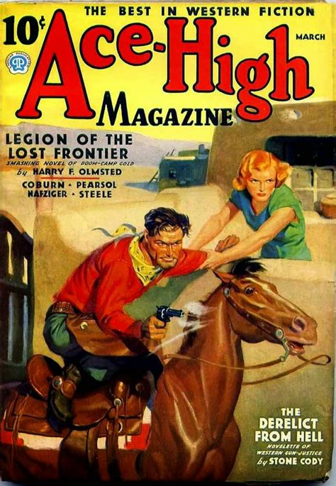 rough edges saturday morning western pulp ace high magazine march