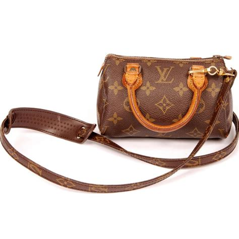 Speedy With Mini Bags louis vuitton 3211 mini speedy with brown cross