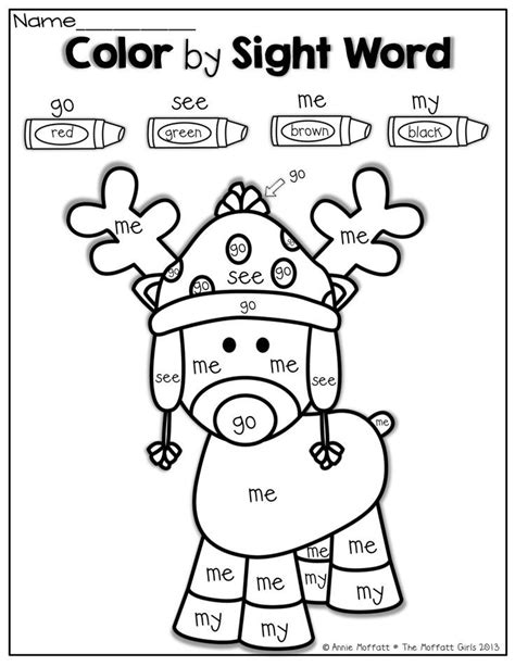 christmas coloring pages with words sight words christmas christmas pinterest