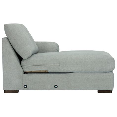 light blue sectional with chaise city furniture belair lt blue microfiber right chaise