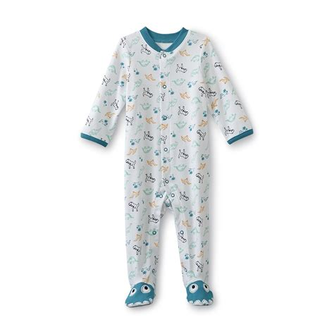 Sleeper Shopping Wonders Newborn Boy S Sleeper Pajamas Dinosaur