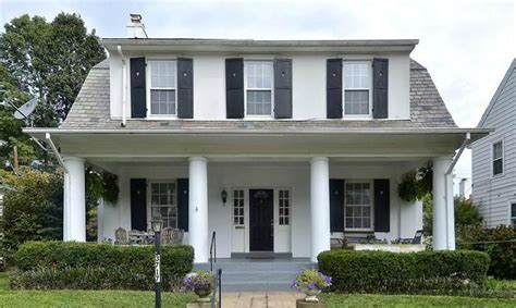 front porches on colonial homes colonial house with front porch decoto