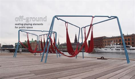 swing layout elements swings and hammocks for public spaces playscapes