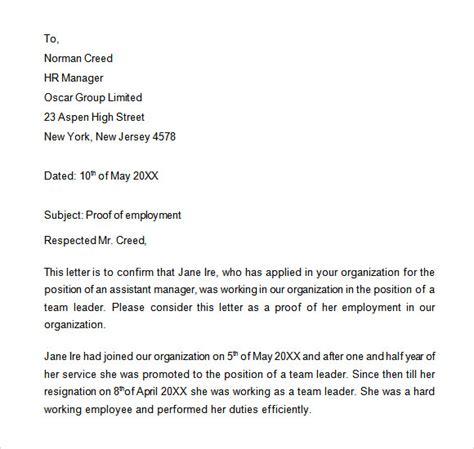 job verification letter format 3