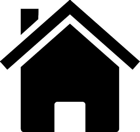 house silhouette home house silhouette icon building public domain
