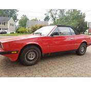 1987 Maserati Biturbo I Zagato Spyder BARN FIND For Sale Photos