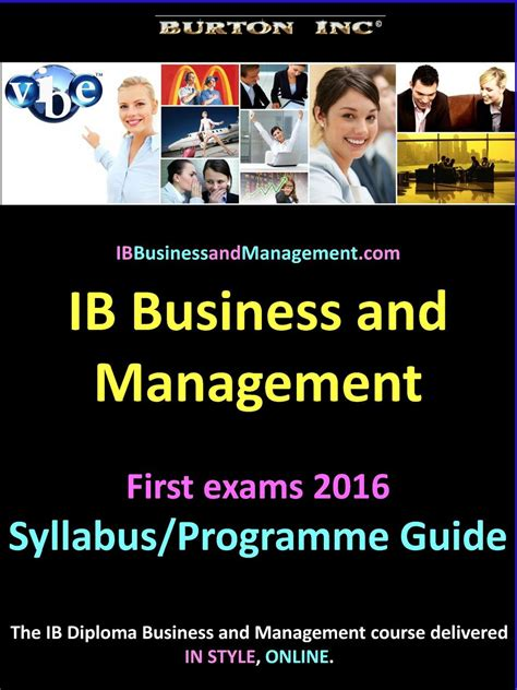Buku Cambridge Business And Management For The Ib Diploma Coursebook 100 Ib Language B Guide 2013 Diploma Programme