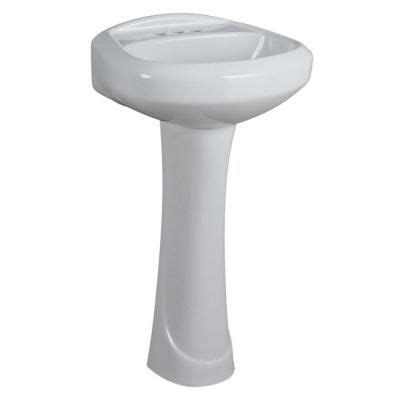 glacier bay aragon pedestal sink glacier bay shelburne aragon pedestal in white l 300 wn