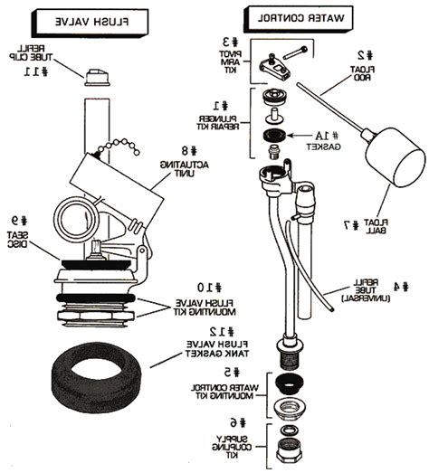 toilet diagram parts american standard parts product thumbnail