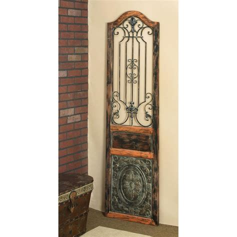 rustic 72 in arched decorative wall panel 55832 the