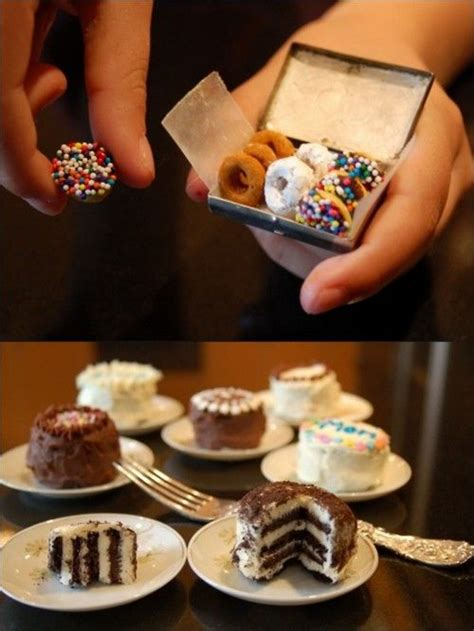 Link Mini Food by Mini Foods Mini Cakes And Donuts On