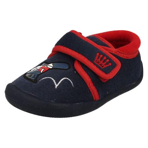 house shoes for boys infant boys clarks house slippers shilo drum ebay