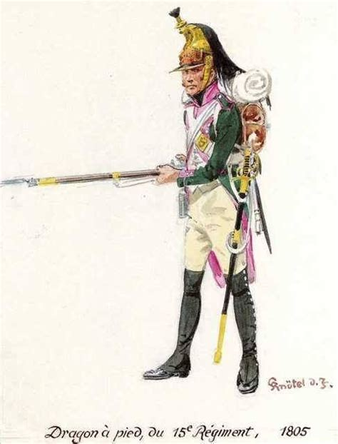 Joger Army Navy 1 224 pied du 15e r 233 giment 1805 uniformes 1er empire