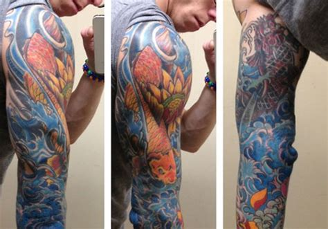 water tattoo sleeve designs 27 creative water tattoos creativefan