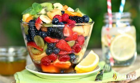 50 best fruit salad recipes orange honey rainbow fruit salad sweet