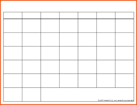 Blank Calendar Printable Blank Lined Printable Calendar Calendar Template 2016