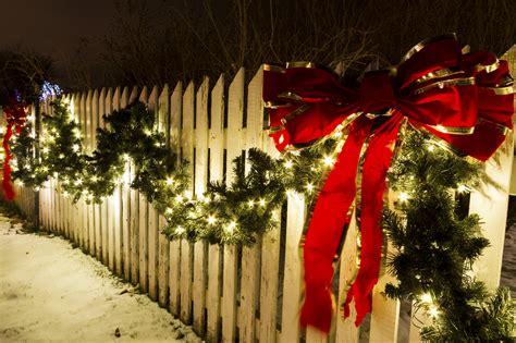 Garten Weihnachtsdeko by Weihnachtsdeko Im Garten Festlich Aber Wetterfest
