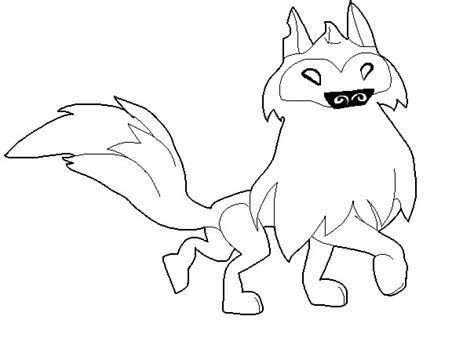 coloring page arctic wolf animal jam free arctic wolf base by fivenightsatchesters