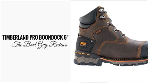 timberland pro boondock 6 wp composite safety toe boot