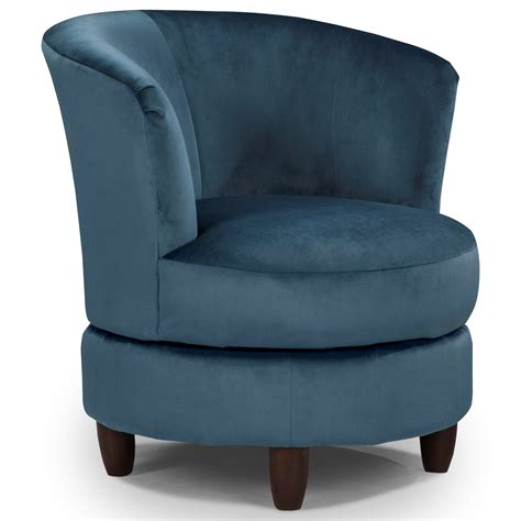 Best Home Furnishings Chairs Swivel Barrel Palmona Barrel Chairs That Swivel