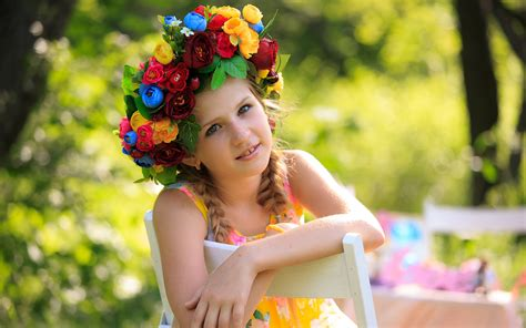 wallpaper flower with girl cute girl flowers wallpapers hd wallpapers id 16064