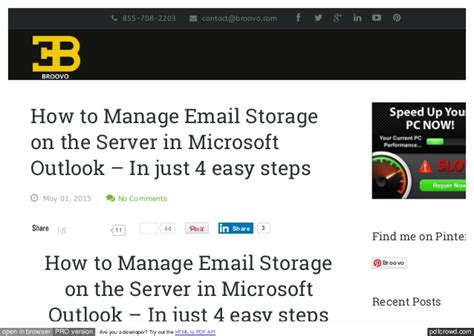 Outlook Search Not Finding Recent Emails How To Manage Email Storage On The Server In Microsoft Outlook