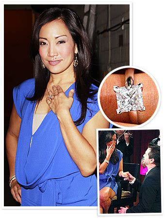 Carrie Inaba Says Yes by Engagement Rings Ring