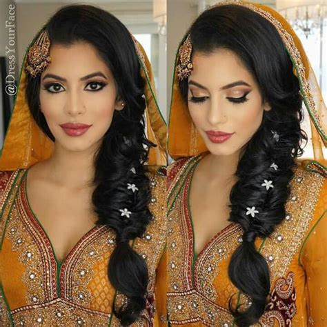 indian hairstyles making make up mehndi hairstyles and faces on pinterest