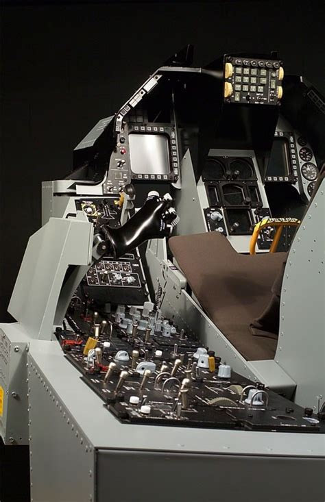 f 16 simulator cockpit for sale flight sims just how realistic are they grogheads