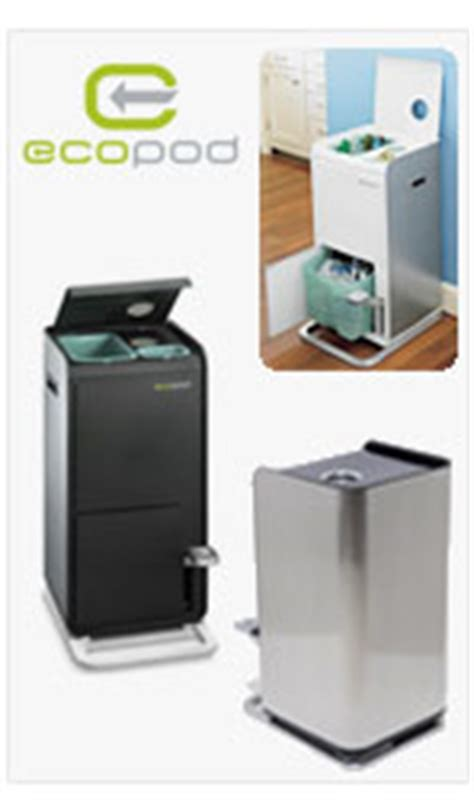 Ecopod E1 Home Recycling Center by Ecopod Home Recycling System