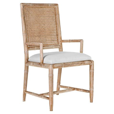 french country armchair armande french country rustic caned bamboo armchair