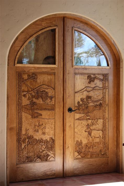 Arched Top Interior Door Pair By Petetree Lumberjocks Arch Top Interior Doors