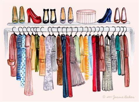 How To Draw A Closet by Joanna Baker Fashion Design Creative Closet Envy