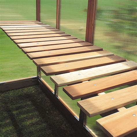 green house benches bench kit for gardenhouse hobby greenhouse kits by