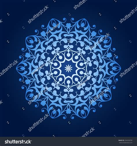 islamic pattern circle vector round pattern mandala abstract design of persian islamic