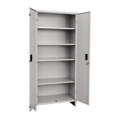 armadi in lamiera armadio tuttopiani in lamiera metallo cm 180x80x40 2 ante