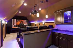 Cool Video Game Rooms - how to make a bonus room into a home theater right house left click