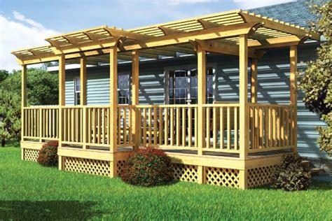 project plan  parallel porch deck  trellis
