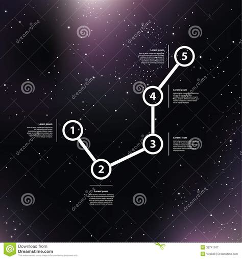 tutorial on vector space vector space background purple galaxies with shining