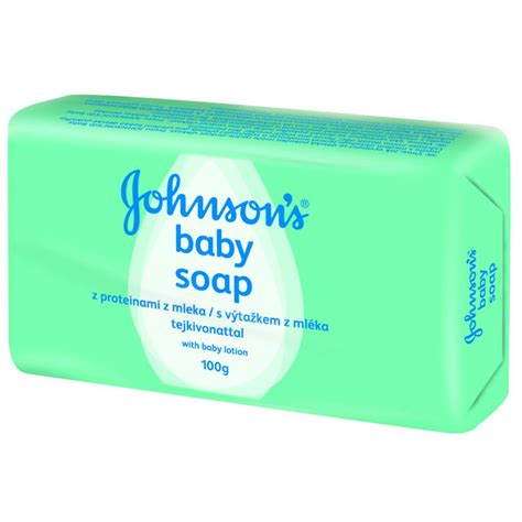 Johnsons Baby 100g johnson s baby soap m 253 dlo s v 253 ta緇kem z ml 233 ka 100g apotek cz