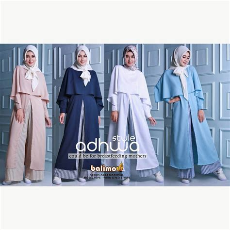 Tunik Linen Import supplier baju muslim terbaru