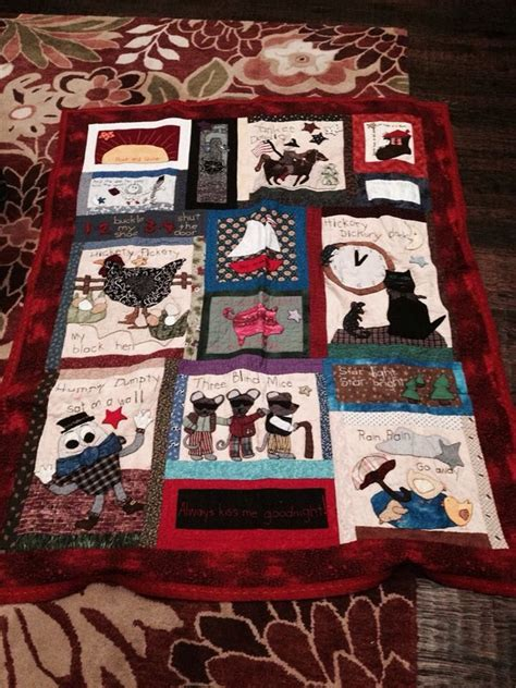 Quilt For Nursery by Nursery Rhyme Quilt Quilting Patterns Misc