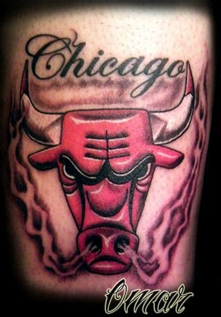 chicago bulls tattoo chicago bulls by omar yelp