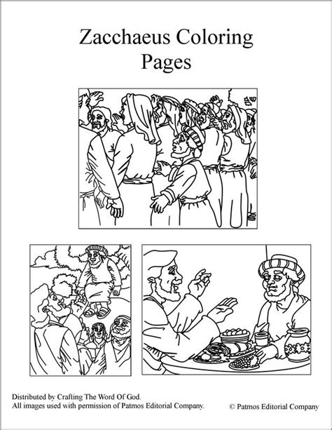zacchaeus coloring page printable zacchaeus bible crafts and activities for sunday school