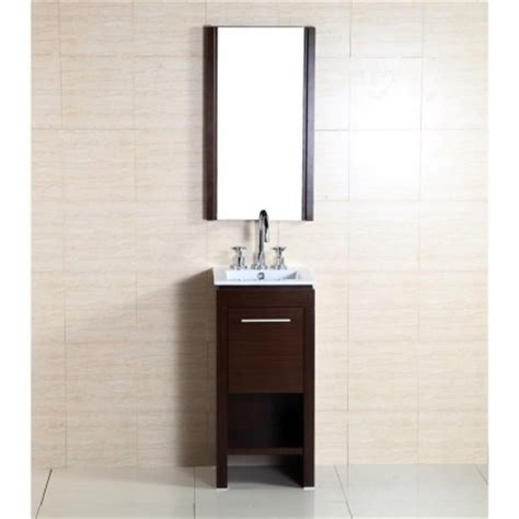 16 inch bathroom vanity bellaterra home 500137 16 inch single sink vanity